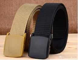 belt buckle allergy fashion anti allergy belt men and women canvas belt woven canvas