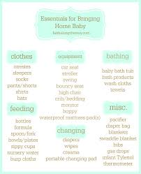 bringing home a new baby checklist baby care