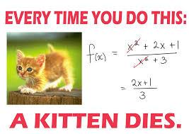 finding the funny in algebra