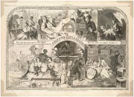 thanksgiving day org thanksgiving day 1860 the two great classes of society