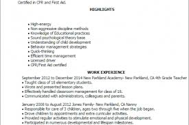 Nanny Resume Sample by Nanny Babysitter Resume Sample Resume For Nanny Position
