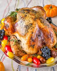 no brine roast turkey sweet savory by shinee