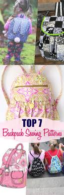 7 best backpack patterns to sew that everyone will sew some stuff