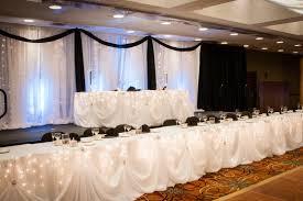 bride and groom sweetheart table weddings services buffalo niagara convention center
