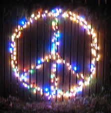 lazy christmas lights editorials from theslowlane peace sign in christmas lights