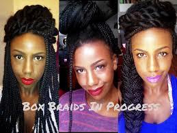 jumbo box braid hairstyles hairstyles ideas