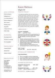 Commi Chef Resume Sample by Resume Chef Skills Examples Sales Chef Lewesmr Professional