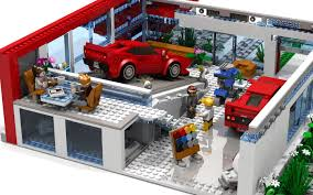 ferrari building lego ideas ferrari flagship showroom lego speed champions