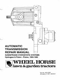 sunstrand hydro service manual automatic transmission