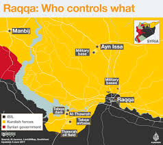 Syria On A Map by Sdf Launch Major Offensive To Capture Isil Held Raqqa Syria News