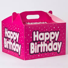 balloon in a box pink birthday balloon gift box only 1 50