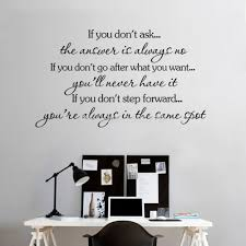 Inspirational Quotes Decor For The Home Aliexpress Com Buy Inspirational Quotes Wall Stickers Decal Home