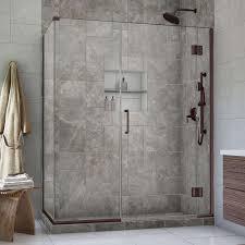 30 Shower Door Dreamline Unidoor X 30 3 8 In X 47 5 In X 72 In Frameless Pivot