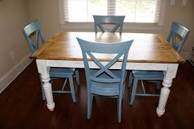 Farm Style Dining Room Sets - quality crafted farm table using osborne dining table legs