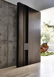 Modern Wood Door Workroom Designs A Contemporary Home In Melbourne Australia