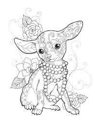 Chihuahua Chic Painting by Cindy Elsharouni  Chihuahua  Pinterest