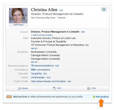How To Add My Resume To Linkedin Introducing New Profile Sections Designed For Students Official