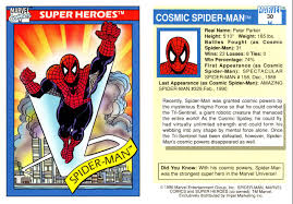 these marvel trading cards will remind you why the 90s was a hella