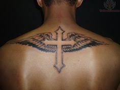 the 25 best cross with wings ideas on tattoos