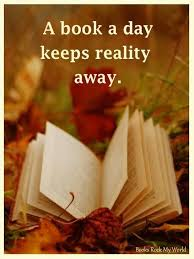 a book a day keeps reality away s book reviews