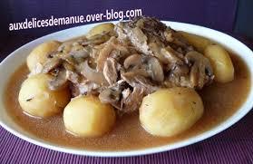 rouelle de porc aux pommes de terre auxdelicesdemanue
