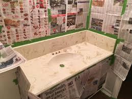 diy spray painted bathroom sink u2013 one little bird blog