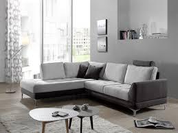 canapé d angle tissus pas cher canapé d angle moderne assise capitonnée et dossier coussins en tissu