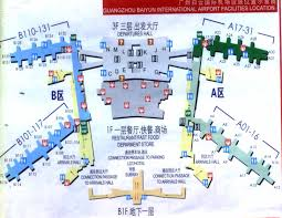 Hong Kong Airport Floor Plan by Guangzhou Airport In China