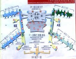Guangzhou China Map by Guangzhou Airport In China