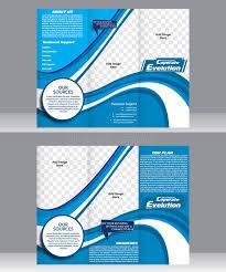 tri fold corporate brochure template stock vector image 56259118