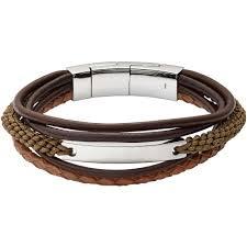 leather bracelet man images Bracelet man jewellery fossil vintage casual jf02703040 bracelets jpg
