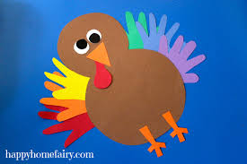 handprint turkey crafts thanksgiving crafty morning dma
