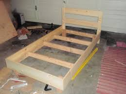 Platform Bed Frame Building by Platform Bed Frame Diy Twin King Size Also Interalle Com