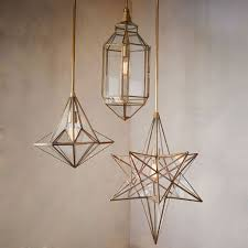 Moroccan Pendant Lights Moroccan Glass Pendants West Elm