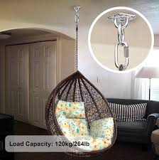 Chair That Hangs From Ceiling Hammock Chair Hanging Kit 264lb Capacity Ceiling Mount Aerial Yoga