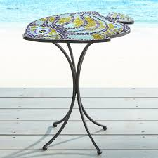 Mosaic Accent Table Cheap Fish Mosaic Accent Table Best Shopping Outdoor Furniture