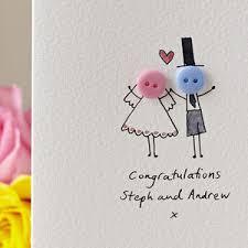Weeding Cards Personalised Wedding Cards Notonthehighstreet Com