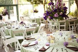 Purple Wedding Decorations 30 Stunning Wedding Reception Table Setting Ideas