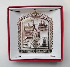 rhode island brass ornament souvenir gift