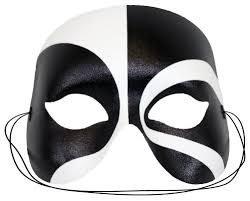 amazon com masquerade black white masquerade mask for men toys