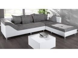canapé angle gris blanc canape d angle droit sultan blanc gris