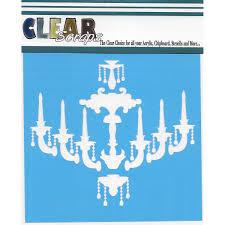 Chandelier Stencils New Clear Scraps Stencils 6