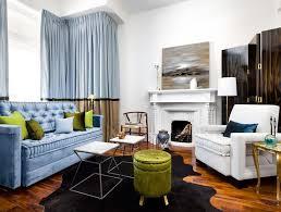 light blue velvet couch gray velvet sofa eclectic living room sally wheat interiors