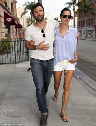 haircut for long torso alessandra ambrosio shows off endless legs as she takes a stroll