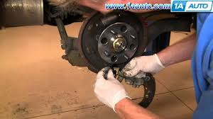2001 honda civic brake pads how to install replace rear drum brakes honda civic 01 05 1aauto
