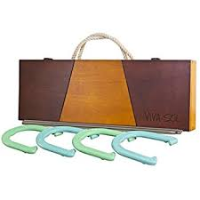 personalized horseshoe set crown sporting goods professional steel horseshoe