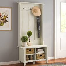 Hall Tree Bench | lark manor ottman hall tree with storage bench reviews wayfair