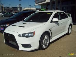 mitsubishi gsr 1 8 turbo 2012 wicked white mitsubishi lancer evolution gsr 60445349 photo