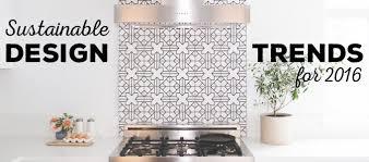 Sustainable Design Interior Sustainable Design Trends 2016