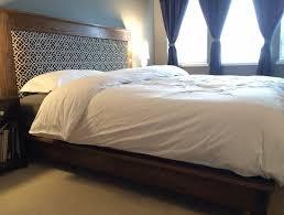 Platform Bed No Headboard No Headboard Platform Bed Home Design Ideas